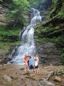 WV Vacation 2013-08-13  Waterfall pic edited for print