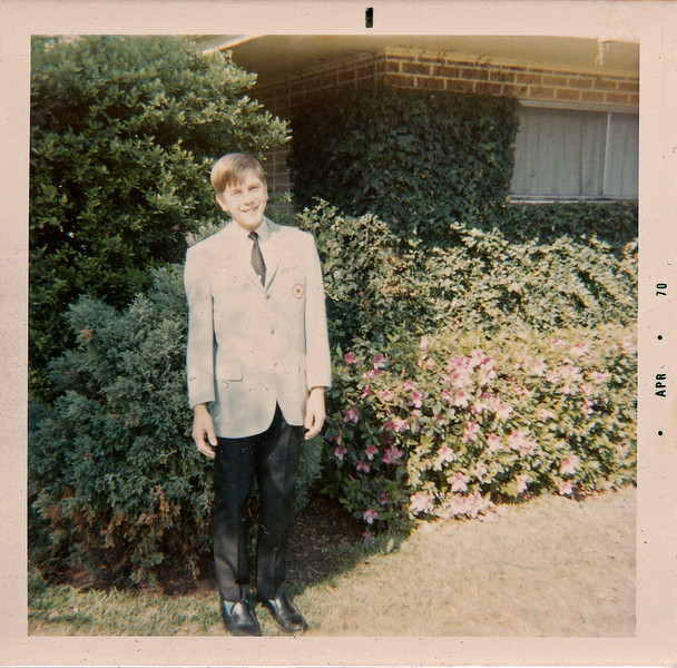 Craig in Suit 1970-1