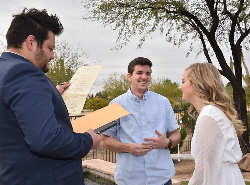 1715542020-03-31 Bryan and Alyssa Wedding held at Home,  Arizona on 3/31/2020.