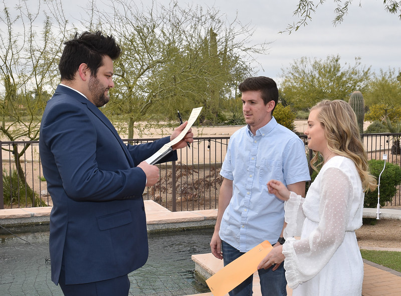 1716322020-03-31 Bryan and Alyssa Wedding held at Home,  Arizona on 3/31/2020.