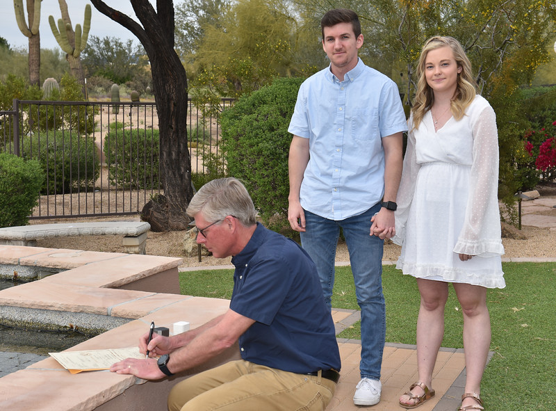 1715042020-03-31 Bryan and Alyssa Wedding held at Home,  Arizona on 3/31/2020.