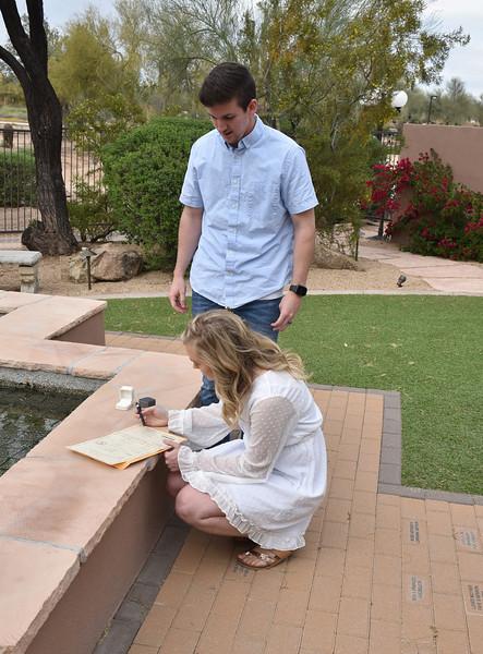 1713302020-03-31 Bryan and Alyssa Wedding held at Home,  Arizona on 3/31/2020.