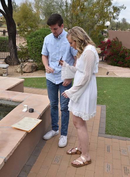 1713222020-03-31 Bryan and Alyssa Wedding held at Home,  Arizona on 3/31/2020.