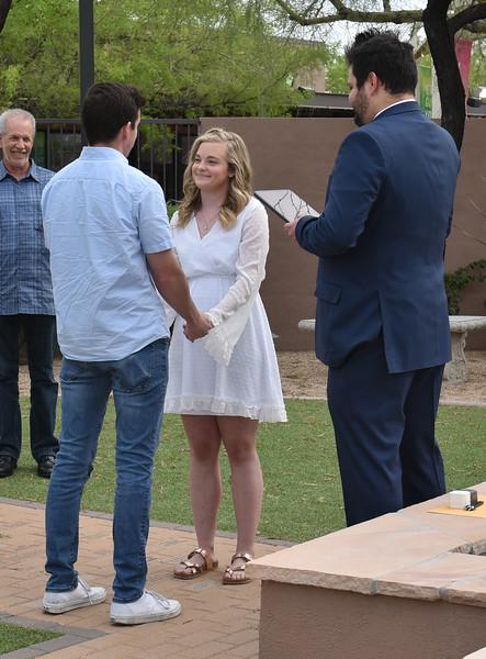 1709262020-03-31 Bryan and Alyssa Wedding held at Home,  Arizona on 3/31/2020.