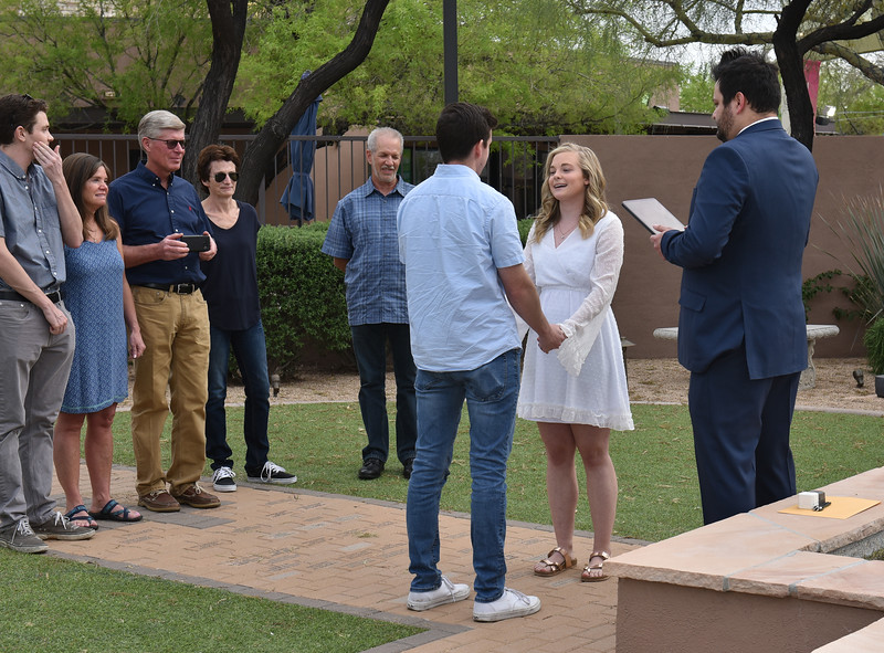 1710272020-03-31 Bryan and Alyssa Wedding held at Home,  Arizona on 3/31/2020.