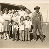 2nd Row: Bessie, Buster, Molene ( Norman's wife) holding Lawana Snellgroves, Joe Hatcher ( arms around my dad), Dewie Carrol Hatcher Back Row: Jim Hatcher, Dovie Hatcher, Mattie Pearl, and Arthur