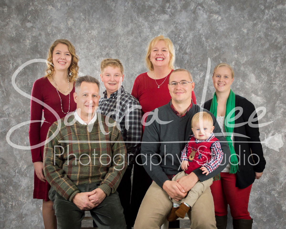 Family Photos in Studio