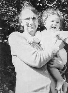 Grandma and Bill at Christening