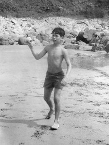 Bowler on the Beach