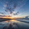 Isle of Palms Sunrise Reflections - South Carolina - Tom Sloan