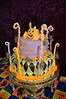 cake for the unicon halloween party.  VERY last minute.