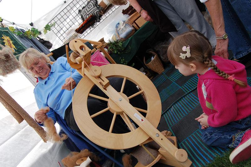 The Pinetop-Lakeside Fall Festival.  September 2006.