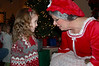 """We met Mrs. Claus at the train depot.  Ainsley says, """"I liked her.  I would love to see her again, soon."""""""