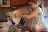 We picked lemons from grandma's tree to make our delicious lemonade.
