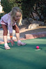 Jenna's version of putt-putt involved no putter.