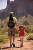 Easter weekend hike in the superstition mountains.