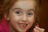 Ainsley lost her first tooth at Charlie Clark's Steakhouse in Pinetop, AZ, on November 15, 2008.