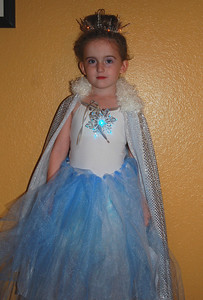 Ainsley decided she wanted to be Jadis, the White Witch from the Narnia books by C.S. Lewis.