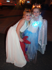Cleopatra and The White Witch (friend Zoe and Ainsley).