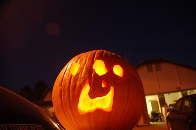 Ainsley's magnificent pumpkin.