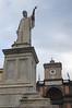 Statue of Dante.