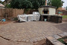 Paver patio installed.  300sf of new entertaining space!