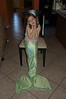 Liz made this incredible mermaid tail for Ainsley's upcoming Mermaid Tea Party birthday party.