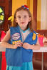 Ainsley officially became a Daisy Scout at her investiture ceremony this month.