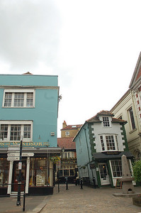 The turned this little tipsy building into a pub called The Crooked House.