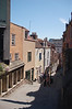 The Christmas Steps in Bristol.  A net little stepped street lined with shops.