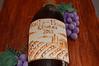 handpainted gumpaste wine label.