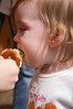 Though Ainsley clearly loved her caramel apple, she did share with Niamh, who is a huge fan of apples, herself.