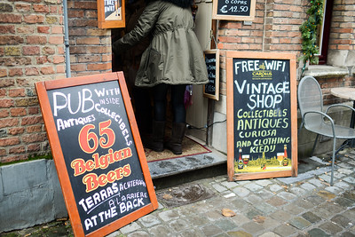 It's both a vintage shop AND a bar.  Best store ever?