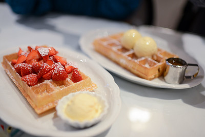 And of course we had to have waffles.