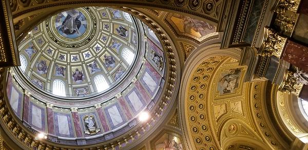 the basilica, Budapest.