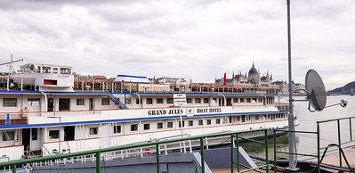 This was our hotel boat on the Danube.