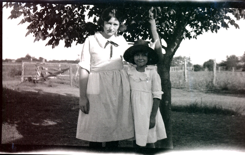 Pretty sure that's Marian Agnes, big sis...