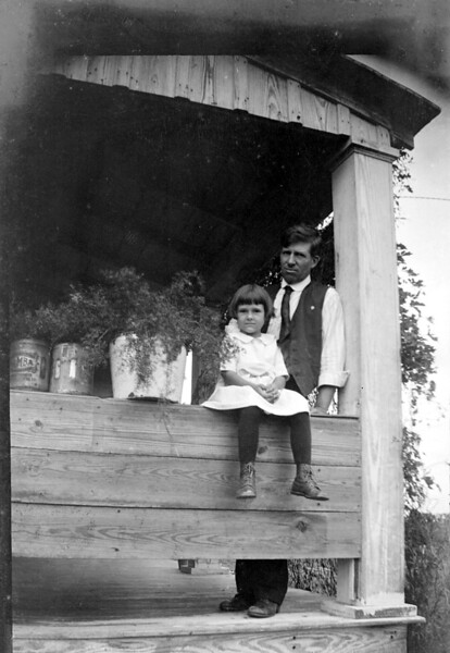 W.C. and Frances. Not sure where this was taken....