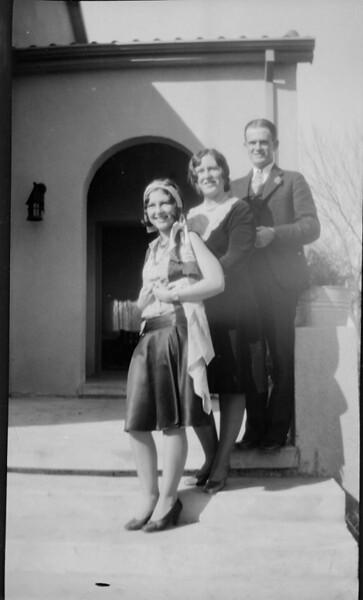 Frances, Marion and her husband, Joe McBride.