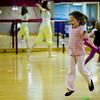 Reayah at dance class
