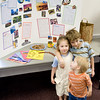 """This was at our home school group's """"International Day."""" The kids put together this display for our chosen topic: Australia... Bennah did all the writing on the info pages and they all helped find, cut out, and add the pictures to the board. Of course, Renee """"supervised"""" ;)"""