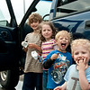 Ice cream sandwiches on the road.