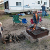 Camping at Illionois Beach State Park