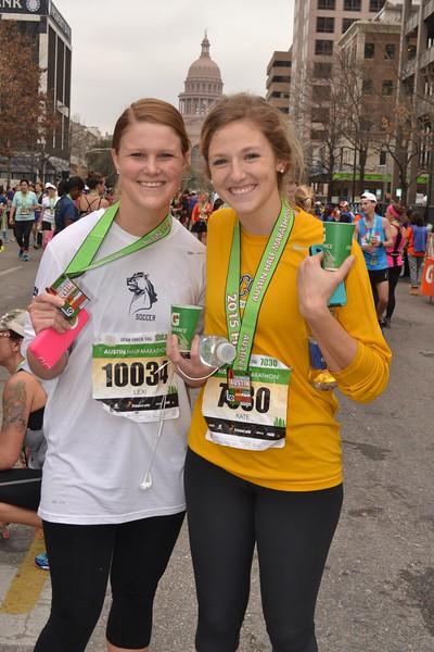 2015 Austin Livestrong Half Marathon
