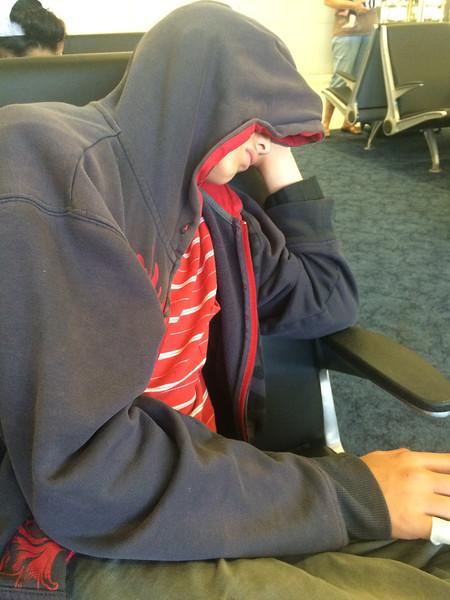 Travel is hard work