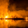 Brush Fire on the Mossey River