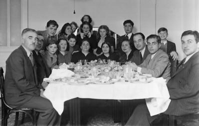 Aile yemeği, Talas - Kayseri, Temmuz, 1938
