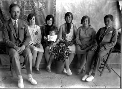 Babam ( en sağda)
