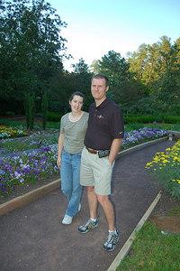 Ellen & David at Duke Gardens
