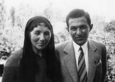 Babaannem ve babam, Kayseri 1 Temmuz 1936